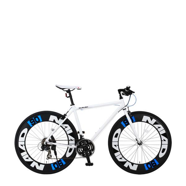 自転車 クロスバイク CANOVER NAIAD CAC-023 カノーバー ナイアード 700×28C 21段変速 ホワイト25584