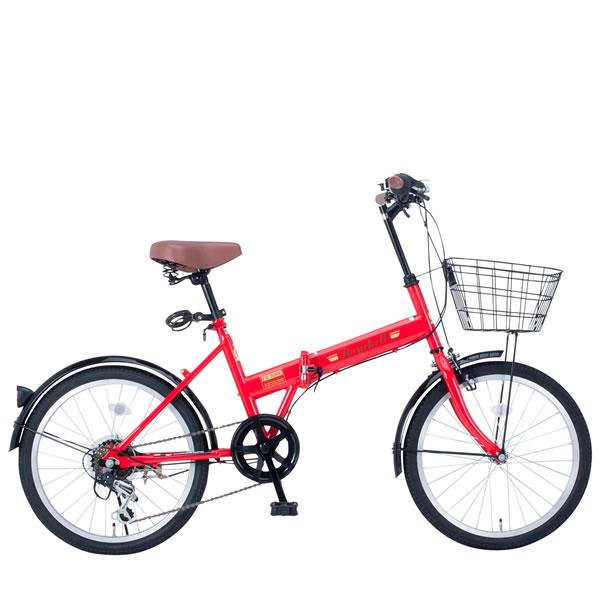Raychell レイチェル 20インチ 20インチ 折りたたみ 自転車 ミニベロ FB-206R 20×1.75 ミニベロ シマノ6段変速 20×1.75 レッド35651, アンティーク雑貨 CHEERFUL:f9ebac07 --- sunward.msk.ru