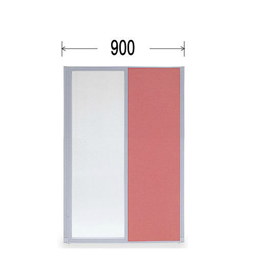 パーティション 衝立 (ついたて) 縦半透明パネル高さ1500ミリ幅900ミリ MP-1509H