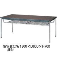 生興会議食堂テーブル 棚付KTD-1860I