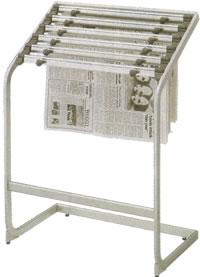 コクヨ 新聞 ラック 新聞スタンド 新聞ホルダー 新聞はさみ 新聞ストッカー オフィス 新聞掛け PH-150