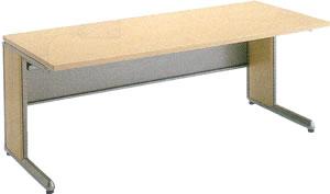 コクヨ ワークデスク ワークテーブル パソコンテーブル パソコンデスク オフィス 平机 テーブル デスク FRESCO フレスコ 勉強机 大人 スタンダードテーブル スリットタイプ 幅1800奥行800ミリ SD-FR188LP81P1MNN