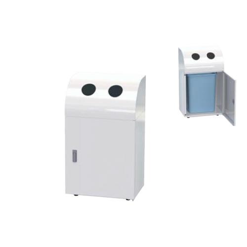 ナイキ ゴミ分別容器 カン・ビン用 TD157-WH