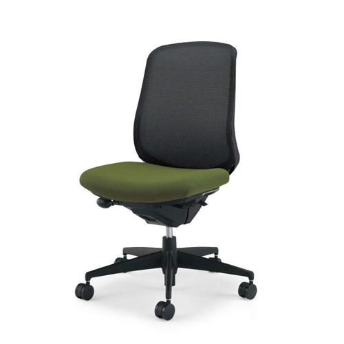 コクヨ シロッコ チェア オフィス ハイバック肘なしランバーサポートなしブラックフレームCR-G2602F6