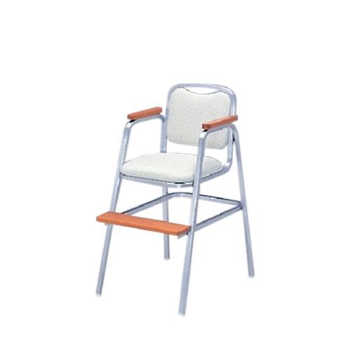 宴会場用結婚式場パーティ卓上椅子スタッキングチェアダーススタッキング不可子供用チェアシルバー塗装布張りイトーキKBT-250SA