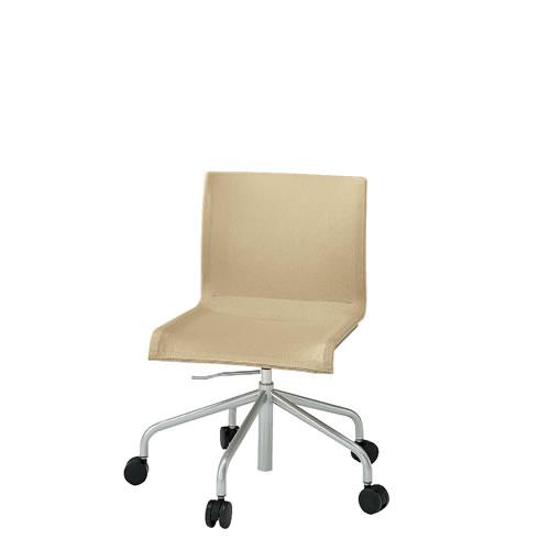 イトーキ 会議椅子 ミーティングチェアー ぺリックチェア 回転脚 キャスター ガス上下調節 スチールパイプメッキ仕上脚 KF-250C-Z9