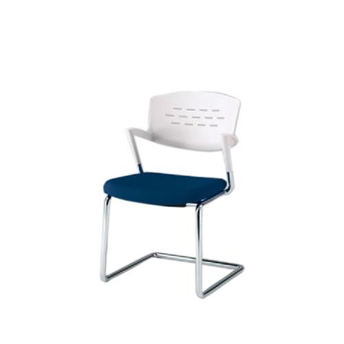 イトーキ 会議椅子 ミーティングチェアー カクタスチェア キャンチレバー シルバーメタリック塗装 KH-217GB-Z5