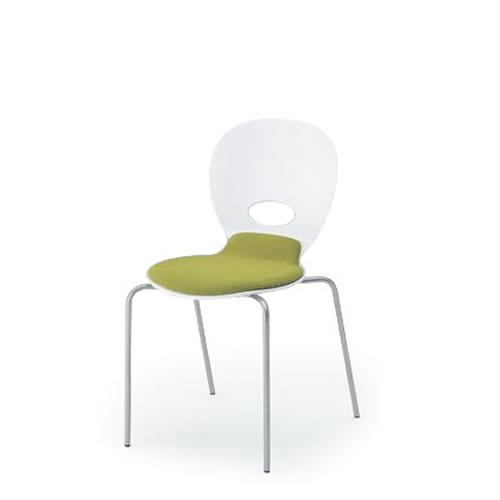 イトーキ 会議椅子 ミーティングチェアー オルノチェア スタッキングチェア クッション付タイプ KJA-140