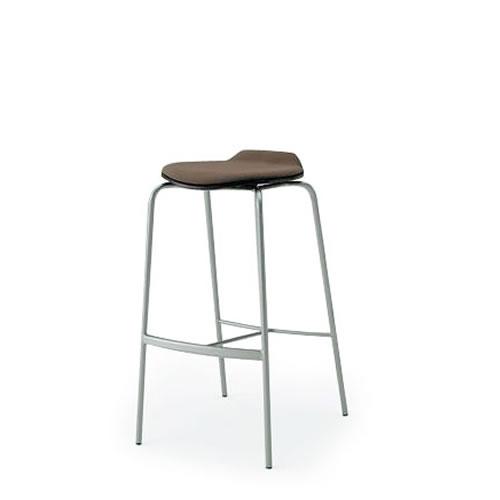 イトーキ 会議椅子 ミーティングチェアー オルノチェア ハイチェア クッション付タイプ KJA-143