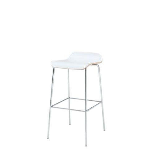 イトーキ 会議椅子 ミーティングチェアー アンビアチェア 4本脚タイプ ハイチェア ヌードタイプ クロームメッキ脚 KJA-313-Z9