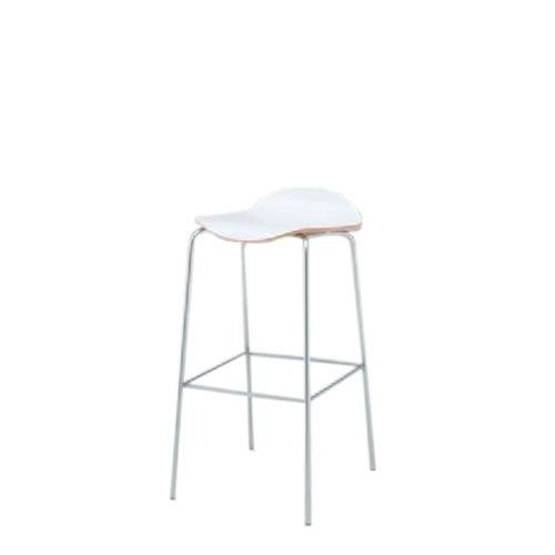 イトーキ 会議椅子 ミーティングチェアー アンビアチェア 4本脚タイプ ハイチェア ヌードタイプ クロームメッキ脚 KJA-333-Z9