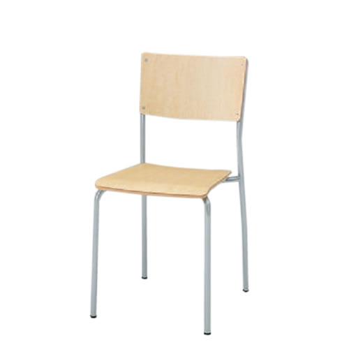 イトーキ 会議椅子 ミーティングチェアー ダイニングチェア F-6タイプ スタッキング 座パッドなし KJF-620-Z5