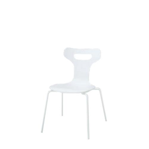 イトーキ 会議椅子 ミーティングチェアー ラメットチェア 4本脚 スタッキング 塗装 KJM-110