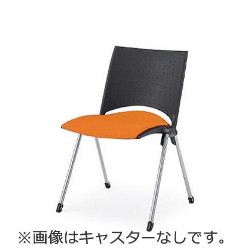 イトーキ 会議椅子 ミーティングチェアー 椅子 レコスチェア 背パッドなし キャスターなし 肘なし イトーキKLA-210GB