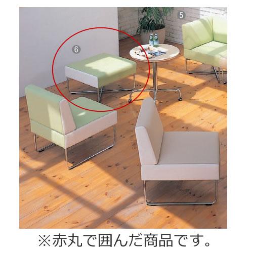 イトーキ 会議椅子 ミーティングチェアー ベジーナ スツール シルバーメタリック塗装脚 LJS-61D-Z5