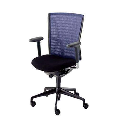内田洋行 オフィスチェア 事務用チェア 事務椅子 アクトディア チェア ミドルバック 背クロスカバー フルアジャスタブル肘 AA3-120-