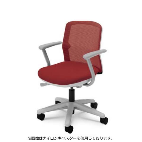 オフィスチェア 内田洋行 Anyza エニーザ メッシュタイプ L型肘 デザインゴムキャスター AMF-115W