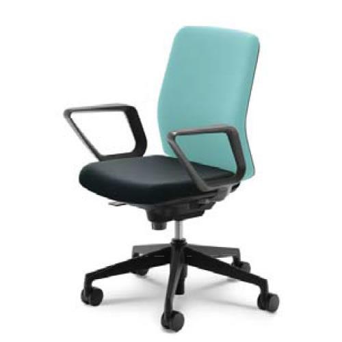 内田洋行 オフィスチェア 事務用チェア 事務椅子 カリッサ チェア クロスタイプ ハイバック リング肘 CRF-530C(535C)