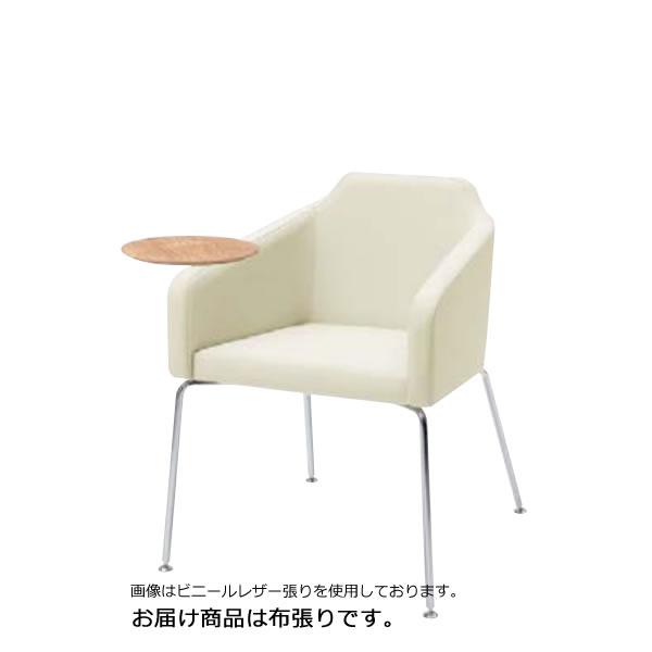 内田洋行ミーティングチェア GM-Eシリーズ 4本脚テーブル付 布張りGME-320T