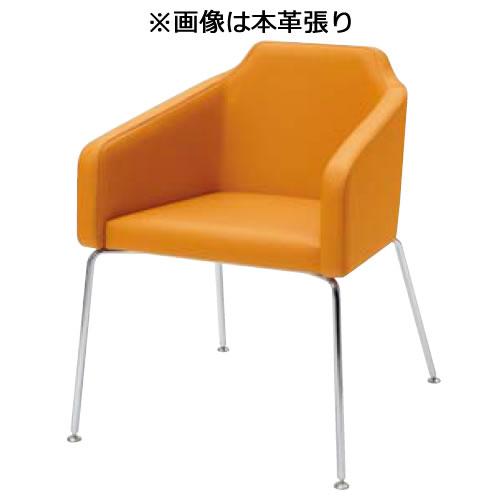 内田洋行ミーティングチェア GM-Eシリーズ 4本脚テーブルなし 本革張りGME-350