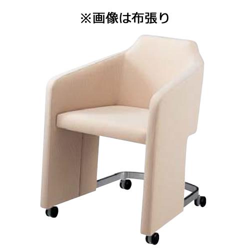 内田洋行ミーティングチェア GM-Eシリーズ パネル脚 キャスター付 テーブルなし 本革張りGME-550
