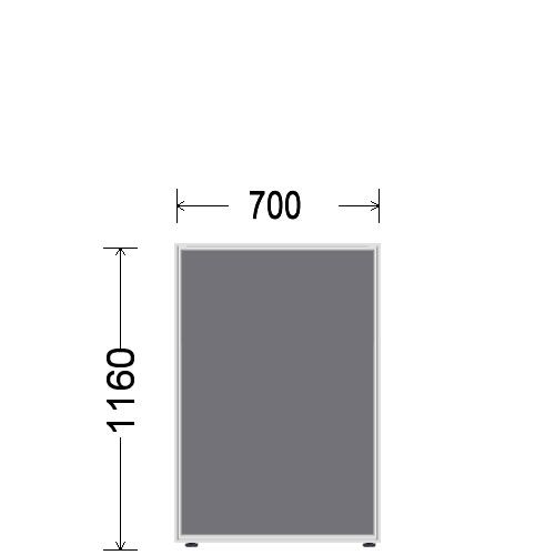 ローパーティション 衝立 BelfixベルフィクスLPEパネル 幅700 生興 LPE-1107