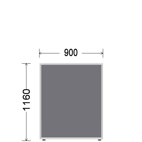 ローパーティション 衝立 BelfixベルフィクスLPEパネル 幅900 生興 LPE-1109