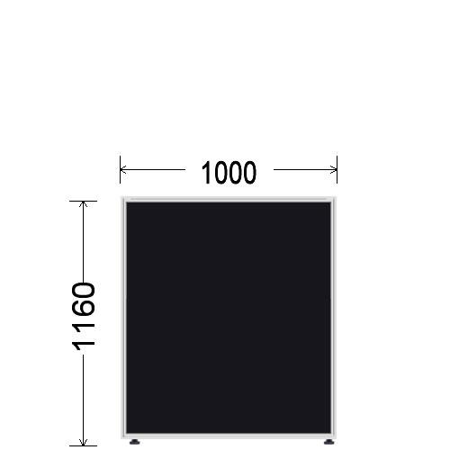 ローパーティション 衝立 BelfixベルフィクスLPEパネル 幅1000 生興 LPE-1110