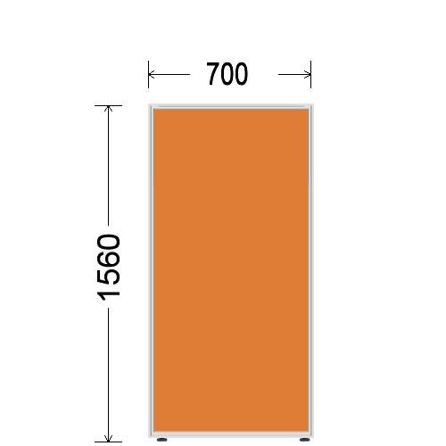 ローパーティション 衝立 BelfixベルフィクスLPEパネル 幅700 生興 LPE-1507