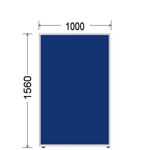 ローパーティション 衝立 BelfixベルフィクスLPEパネル 幅1000 生興 LPE-1510