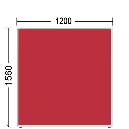 ローパーティション 衝立 BelfixベルフィクスLPEパネル 幅1200 生興 LPE-1512