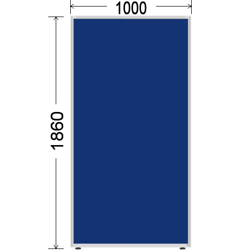 ローパーティション 衝立 BelfixベルフィクスLPEパネル 幅1000 生興 LPE-1810