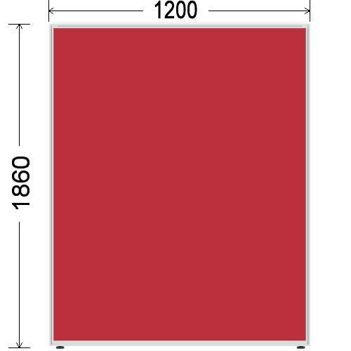 ローパーティション 衝立 BelfixベルフィクスLPEパネル 幅1200 生興 LPE-1812