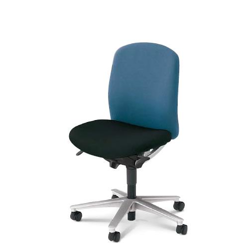 内田洋行 オフィスチェア 事務用イス 事務椅子 キャスト チェア ミドルバック 肘なし CA2-100B(105B)
