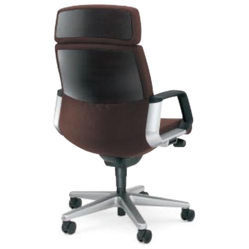 コクヨ 320 シリーズ マネージメント チェア 社長椅子 役員椅子 突板タイプ ヘッドレスト付き サークル肘付き CR-G322