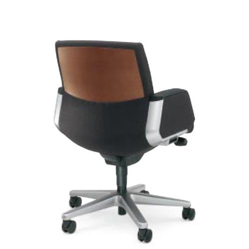コクヨ 320 シリーズ マネージメント チェア 社長椅子 役員椅子 突板タイプ ローバック パネル肘付き CR-G325