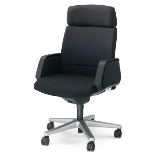 コクヨ 320 シリーズ マネージメント チェア 社長椅子 役員椅子 突板タイプ ヘッドレスト付き パネル肘付き CR-G327