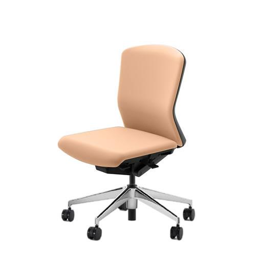 内田洋行 オフィスチェア 事務用チェア 事務椅子 エルフィ チェア ミドルバック クロスタイプ 両面クロス 肘なし ポリッシュ脚 ELA2-300C-305C-