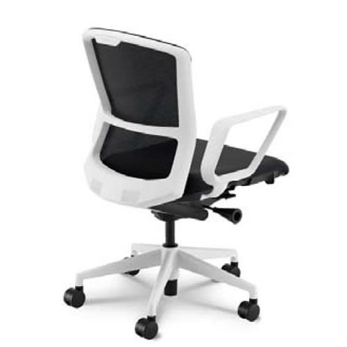 内田洋行 オフィスチェア 事務用チェア 事務椅子 エルフィ チェア ミドルバック メッシュタイプ リング肘 ELA2-330M-335M