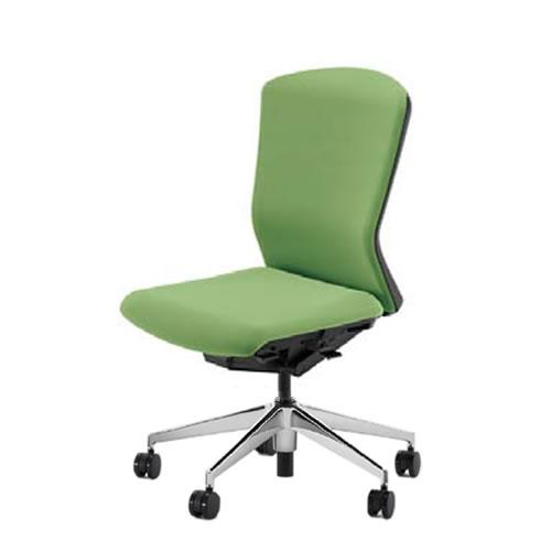 内田洋行 オフィスチェア 事務用チェア 事務椅子 エルフィ チェア ハイバック クロスタイプ 背樹脂カバー 肘なし ポリッシュ脚 ELA2-500P-505P-
