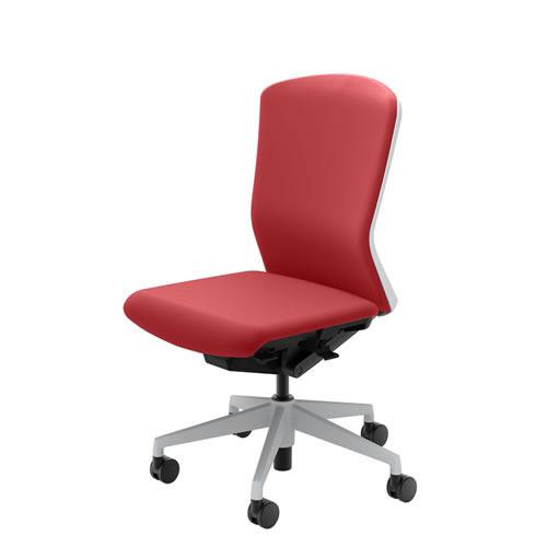内田洋行 オフィスチェア 事務用チェア 事務椅子 エルフィ チェア ハイバック クロスタイプ 背樹脂カバー 肘なし ELA2-500P-505P