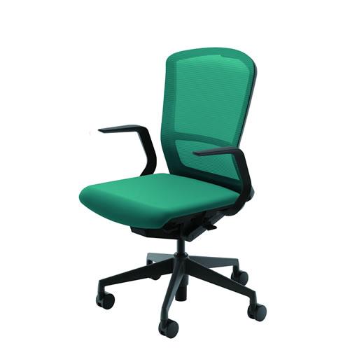 内田洋行 オフィスチェア 事務用チェア 事務椅子 エルフィ チェア ハイバック メッシュタイプ L型肘 ELA2-510M-515M