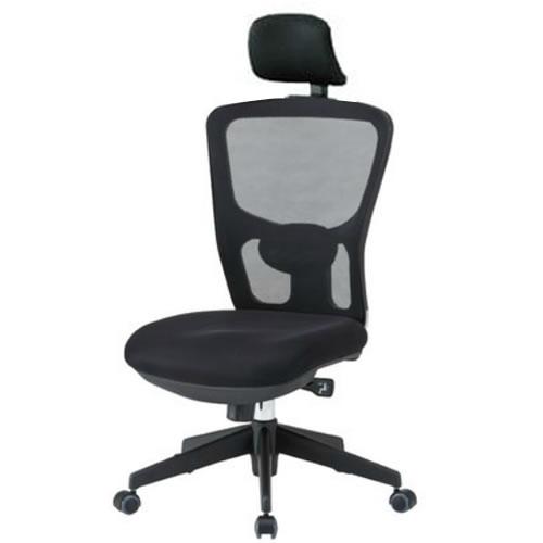 【個人宅配送不可】TOKIO オフィスチェア 椅子 メッシュ 肘なし ヘッドレスト付 FCM-5+FCM-M