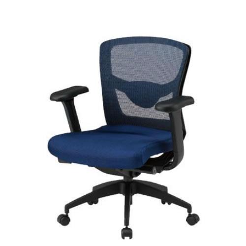 TOKIO オフィスチェア 椅子 メッシュ ローバック 肘付 FCM-L8+FCM-A8