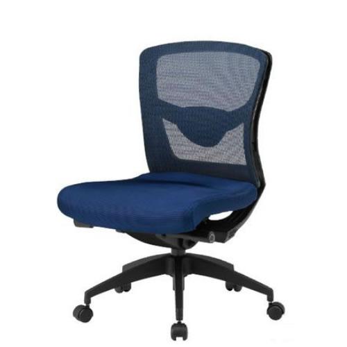 【個人宅配送不可】TOKIO オフィスチェア 椅子 メッシュ ローバック 肘なし FCM-L8