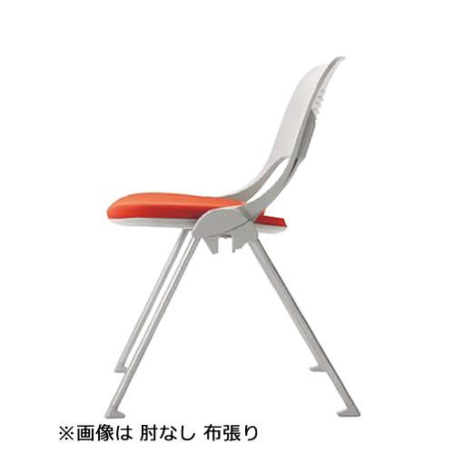 内田洋行 ミーティングチェア MX-40シリーズ 背ヌードタイプ 肘なし ビニールレザー張り MX-41
