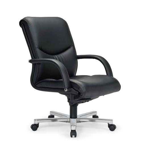 【個人宅配送不可】 アイコ プレジデントチェアー 社長椅子 役員 肘付 ローバックチェア RA-9205L