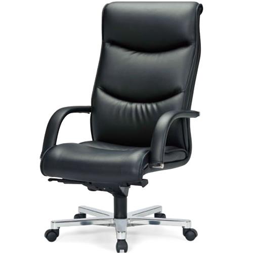 プレジデントチェアー社長椅子役員肘付ハイバックチェアアイコRA-9255L