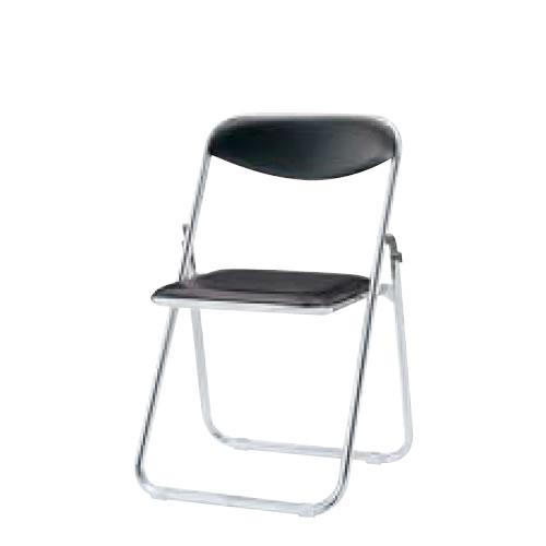 内田洋行 折りたたみチェア 折りたたみ椅子 イス いす メッキ脚 6脚セットS-280F-SET