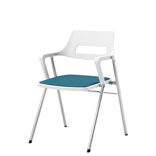 内田洋行 折りたたみチェア 折りたたみ椅子 イス いす 肘付S-720
